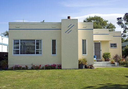 Art Deco House, Napier, New Zealand.