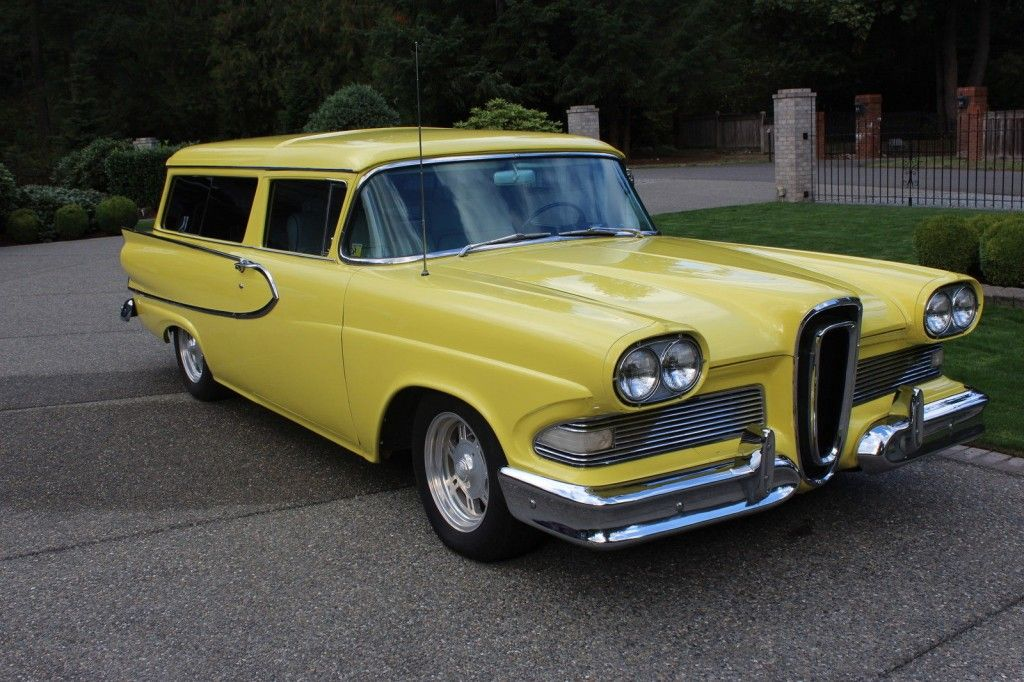 1958 Ford Edsel Roundup 2 Door Station Wagon For Sale Edsel Station Wagon Wagon