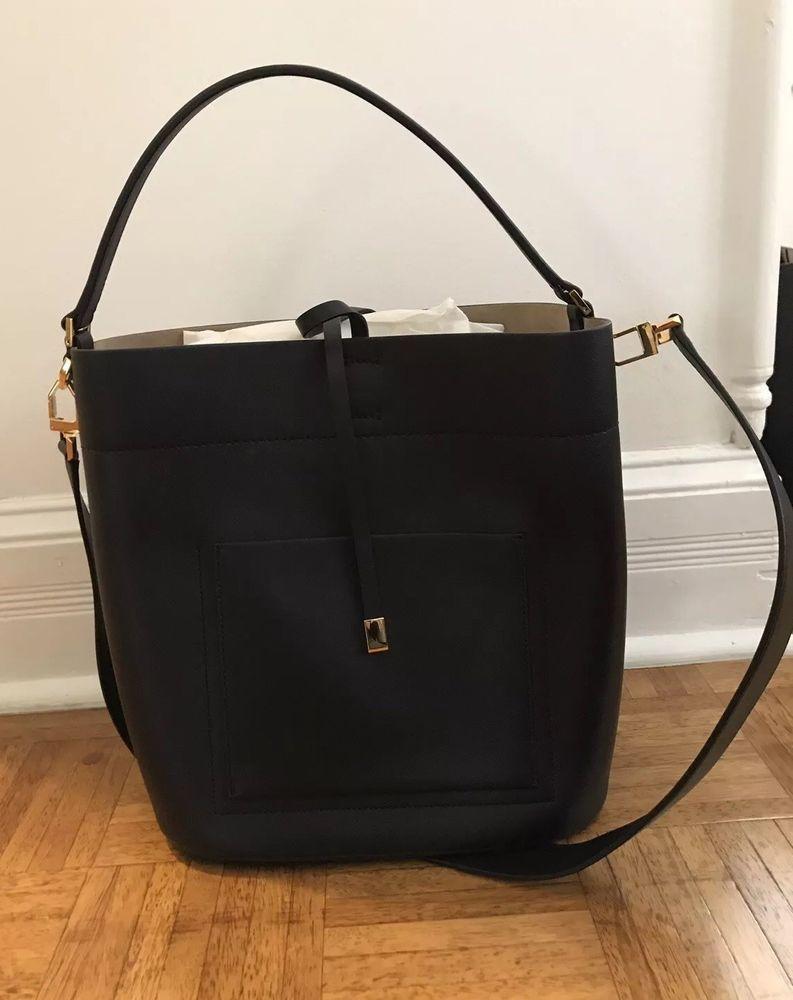 96d8abe59ddc Michael Kors Collection Miranda Large Leather Shoulder Bag, NWT ...