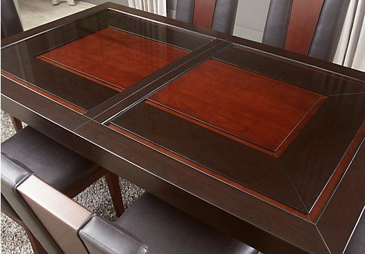 Sofia Vergara Savona Chocolate Dining Table Table Dining Table