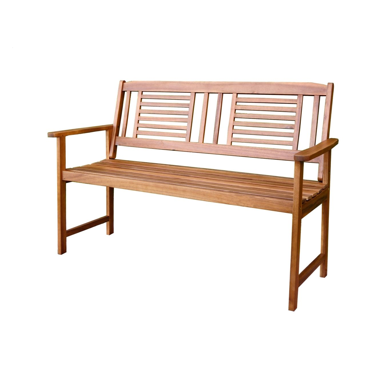 Living Accents 2 Seat Wooden Bench   Park Benches   Ace Hardware