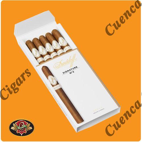 Davidoff Signature No. 2 Cigars - Box of 5 - Price: $85.90