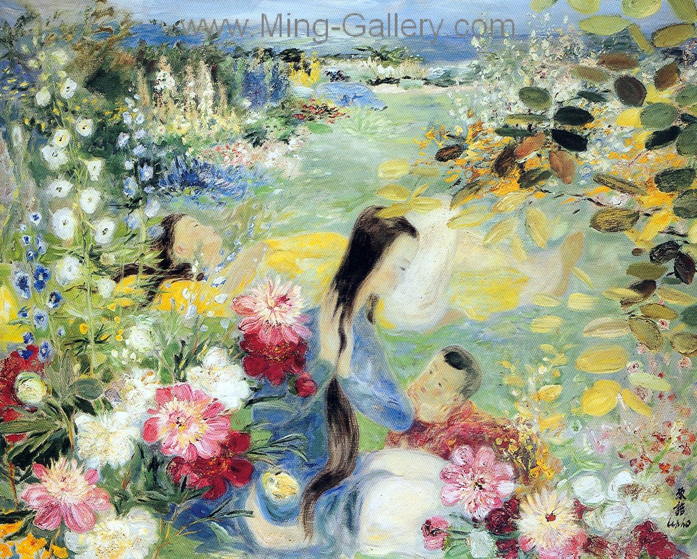 Vnl0020 Le Pho Vietnamese Art Painting Impressionist Paintings Art