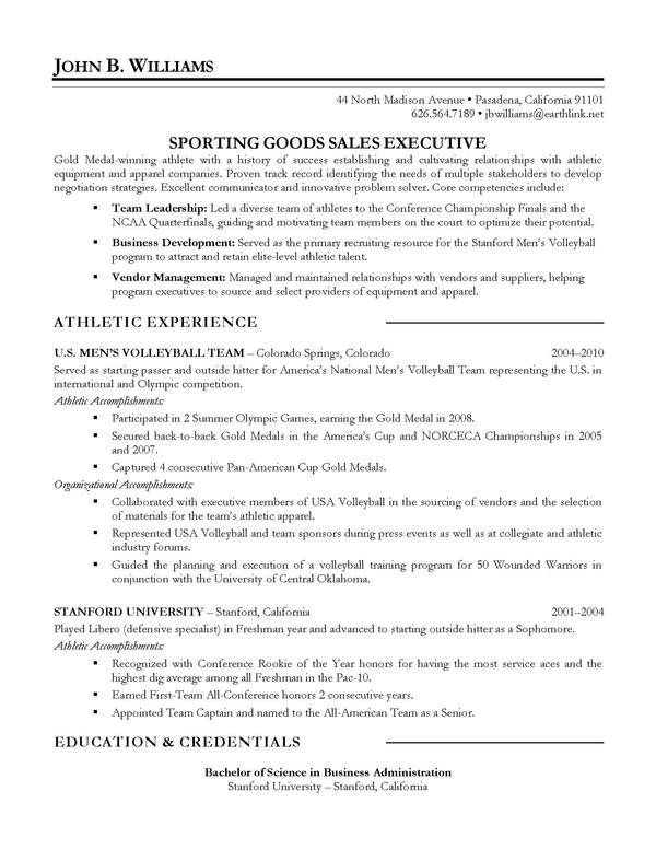 Resume Sample  Sales Executive  ResumeCover Letter Thank You
