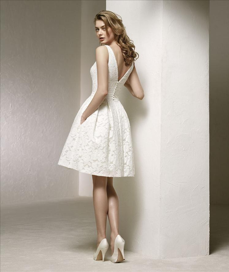 Deina By Pronovias Wedding Dresses Wedding Dress With Pockets