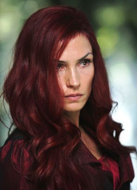 Seasonal Red Hair Ideas Red Hair Is The Rarest Natural Hair Color And This Because The Red Hair Color Breathes Fire Blonde Hair Color Red Hair Famke Janssen