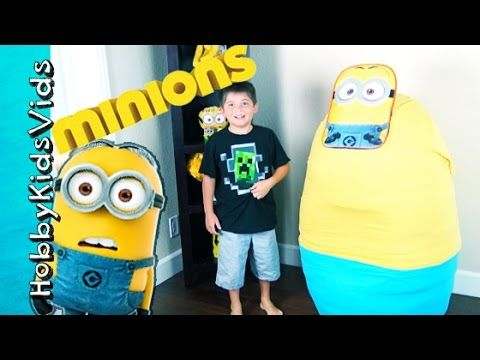 Giant Minion Egg Behind the Scenes! Extras + Cut Clips with HobbyPig, Ho...