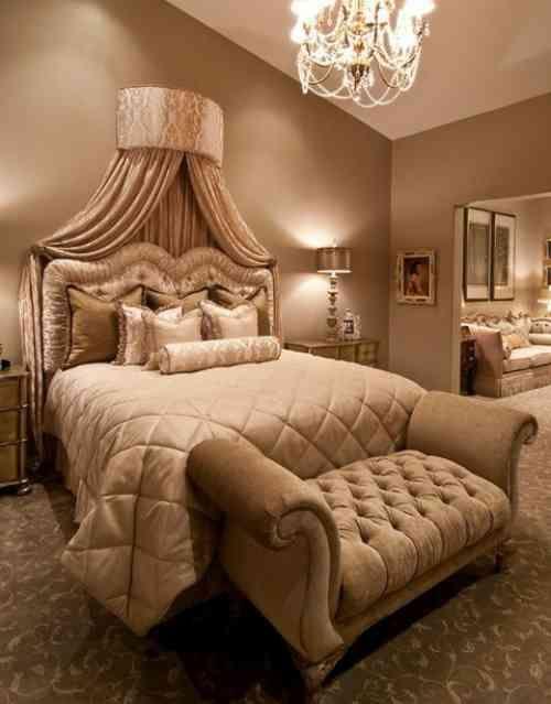 Couleur chambre adulte la chambre en nuances dorées BEDROOM