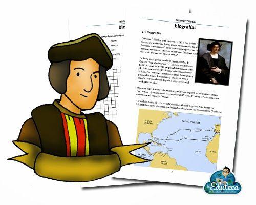 Cristobal Colon Es Uno De Los Personajes Mas Populares Y Conocidos De Nuestra Historia En Este Co Cristobal Colon Biografia De Cristobal Colon Viajes De Colon