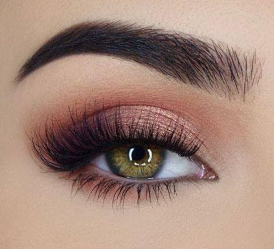 Photo of Rose Gold # Eyes # Make-up, # Nature # Make-up, # Wedding # Make-up # Eyes #Wedding #Na …