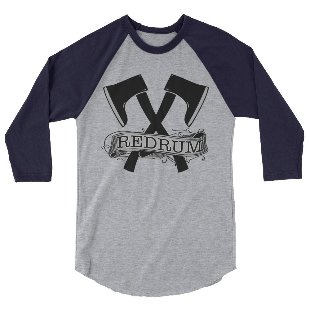 Red Rum 3/4 Sleeve Raglan Shirt