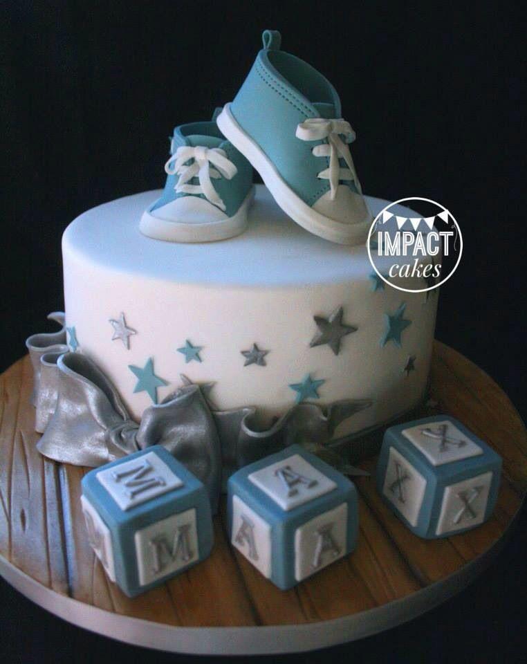 Baby boy christening cake, baptism cake, baby shower cake ...