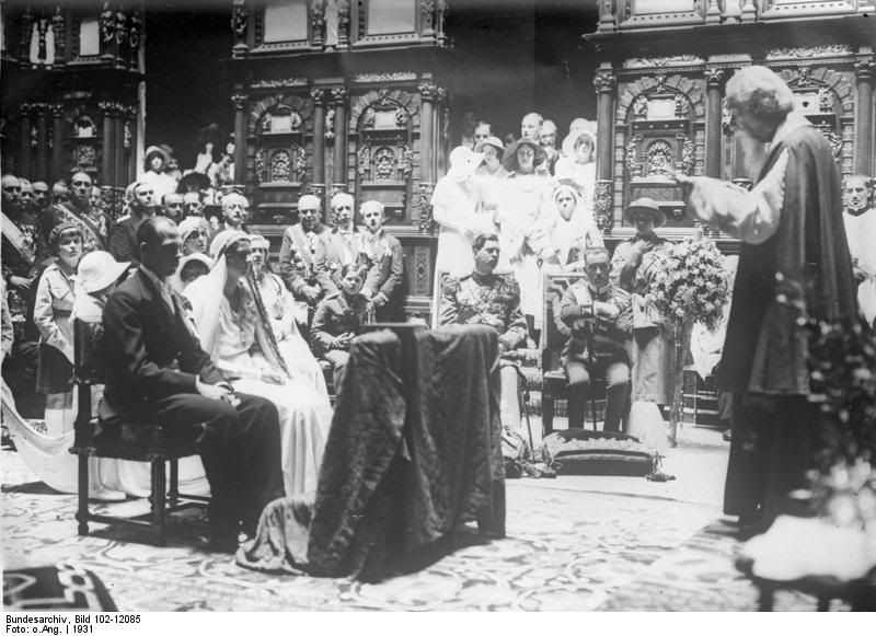Princess Ileana Of Romania And Archduke Anton Ceremonie Mariage Marie Mariage