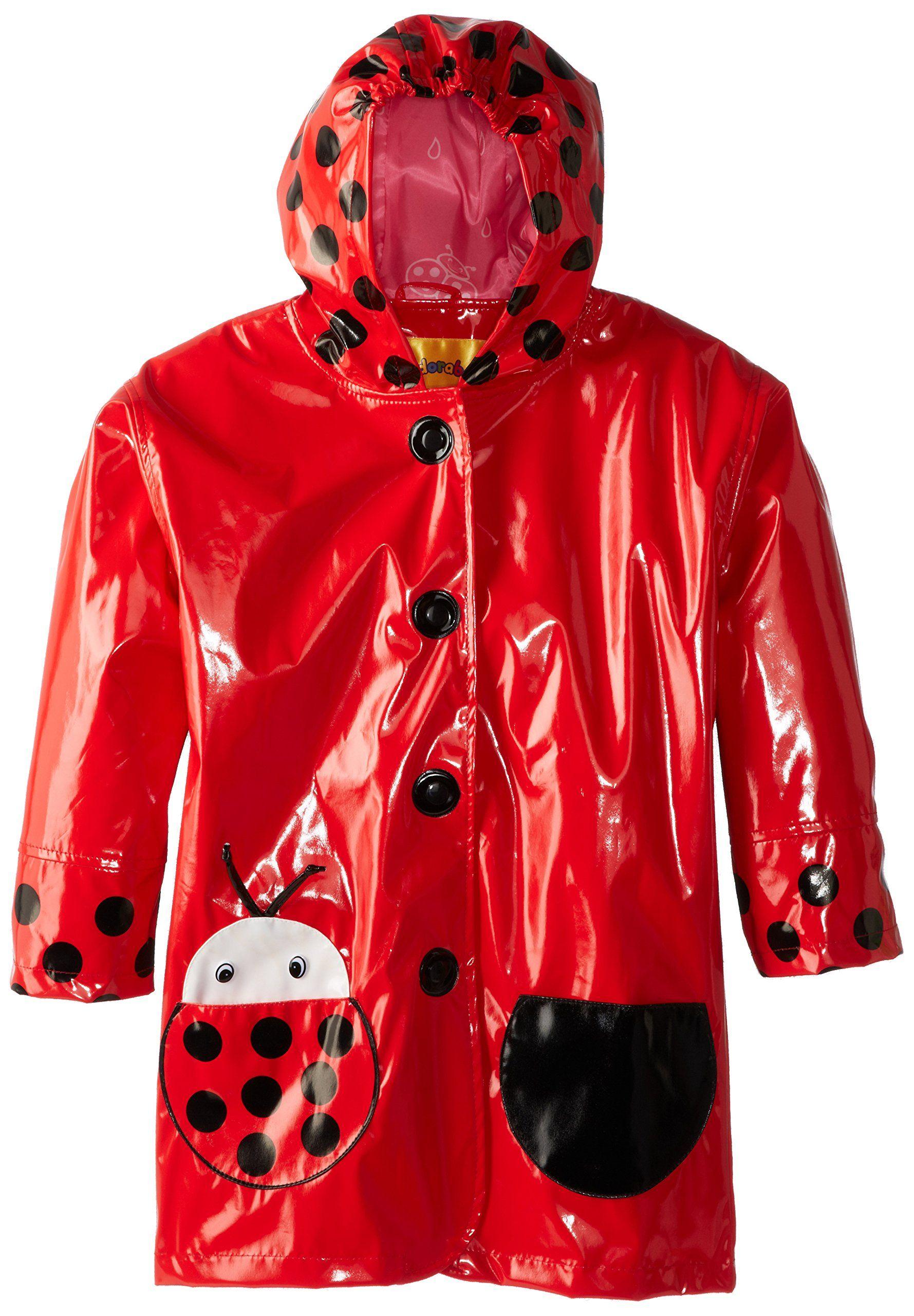 dacf4441c579 Kidorable Toddler Little Kid Ladybug Raincoat