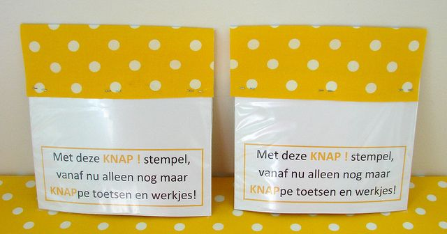 Knap stamp II