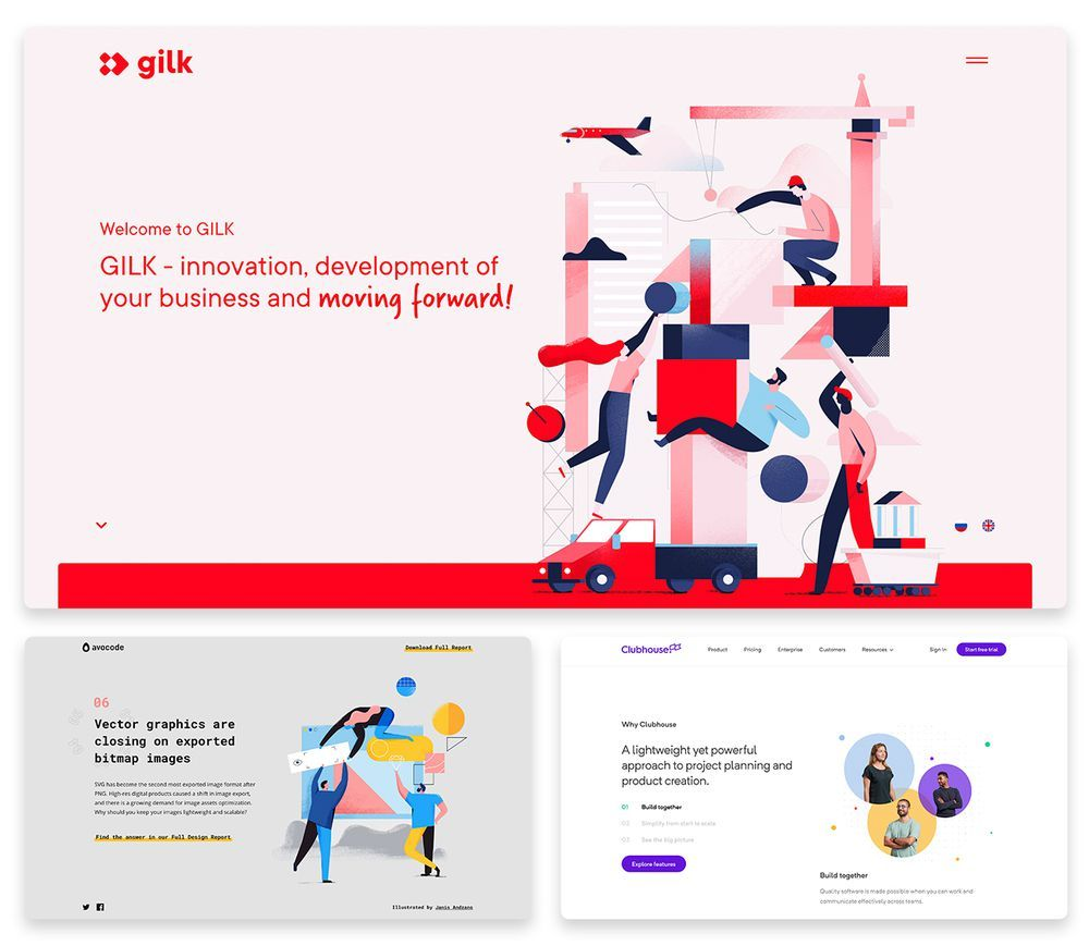 Top 10 Web Design Trends 2019 With 30 Stunning Examples In 2020 Design Trends Website Design Trends Web Design Trends