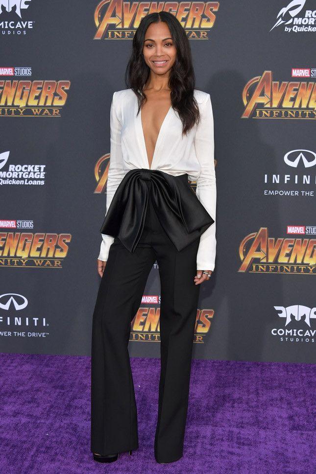 Zoe Saldana Is Thrilled James Gunn Was Re-Hired for Guardians Vol. 3