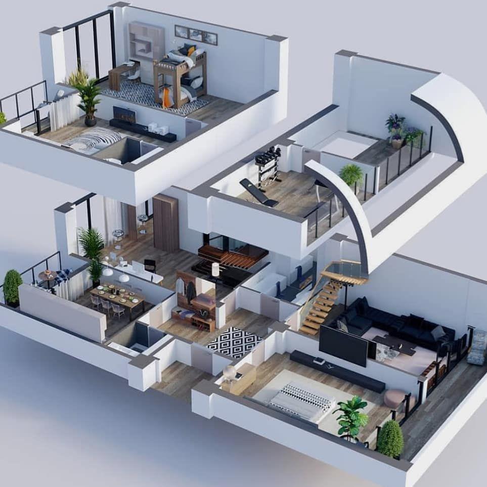 3d artitecture swing interiordesign design interior