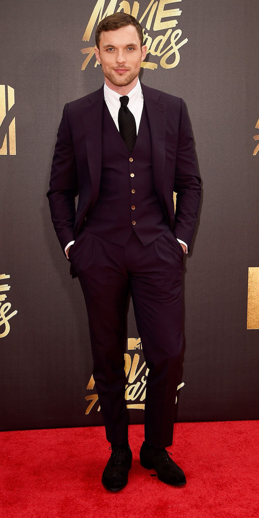 Sneak a Peek at All the Stars on the 2016 MTV Movie Awards Red Carpet - Ed Skrein  - from InStyle.com