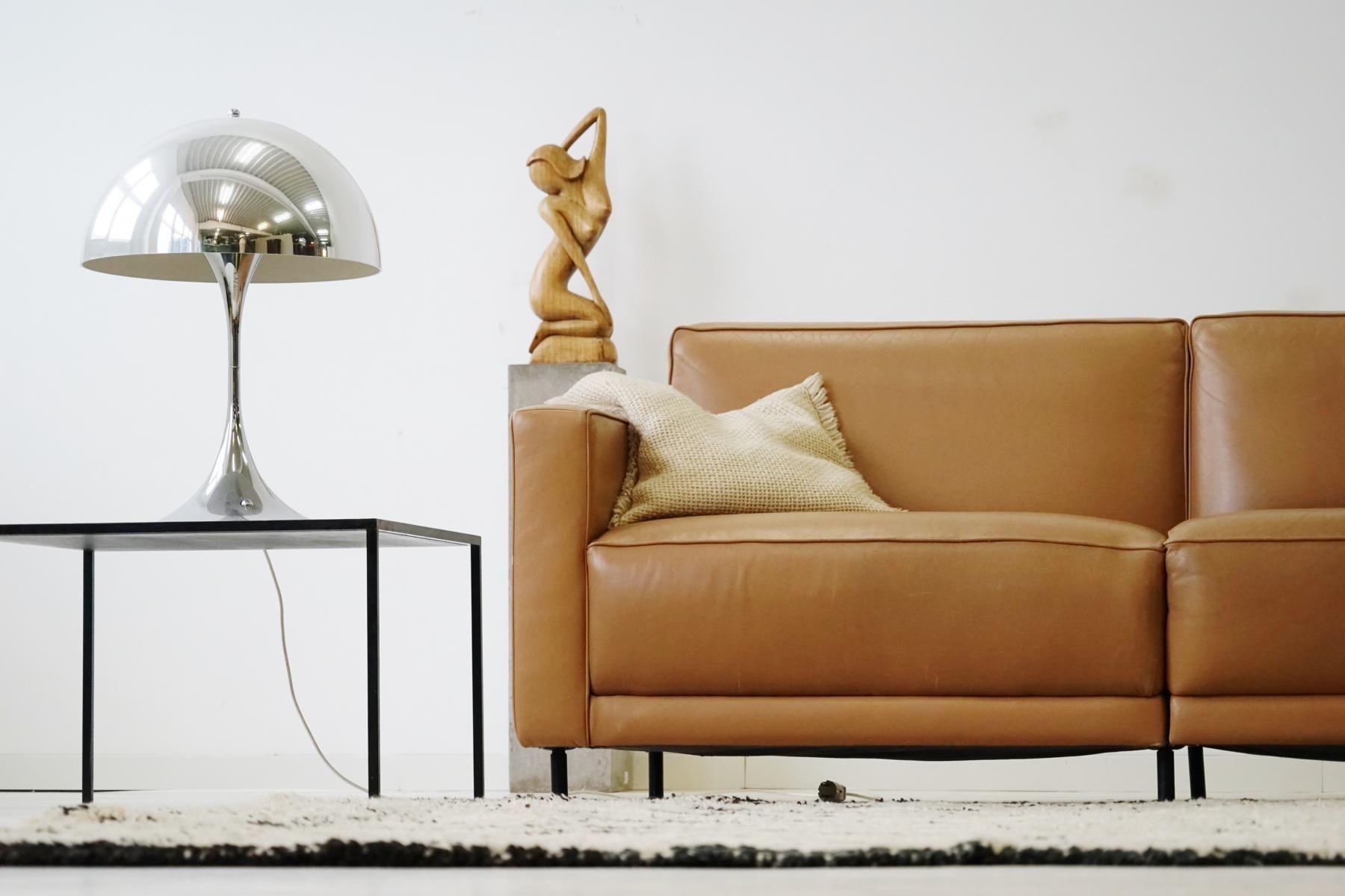 Large Vintage Leather Sofa By Kaufeld Haussmann For De Sede Vintage Leather Sofa Leather Sofa Chair Design