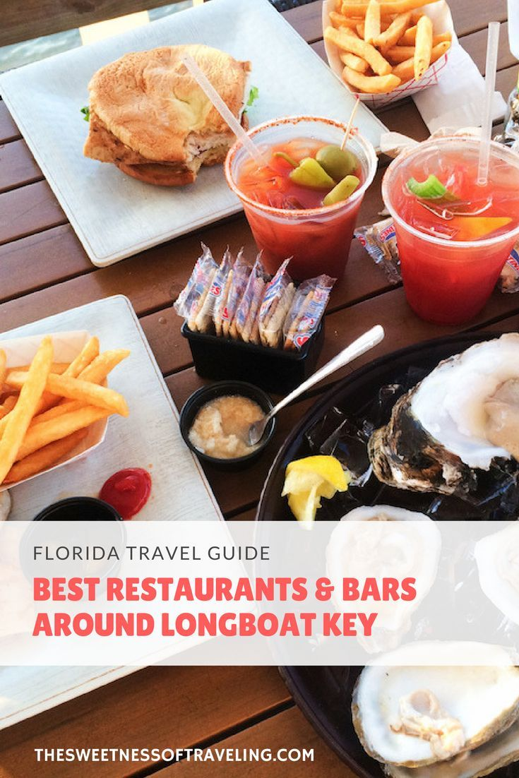 Best Places To Eat In Longboat Key, Anna Maria Island, St