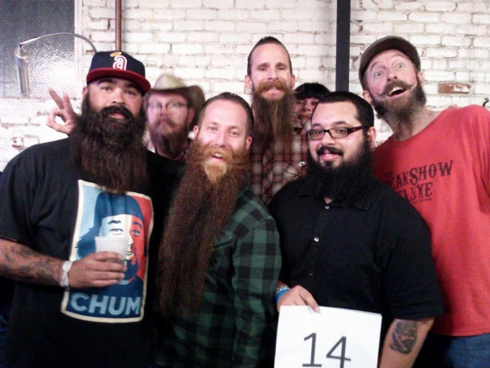 Beard and Mustache comp. Long Beach, CA