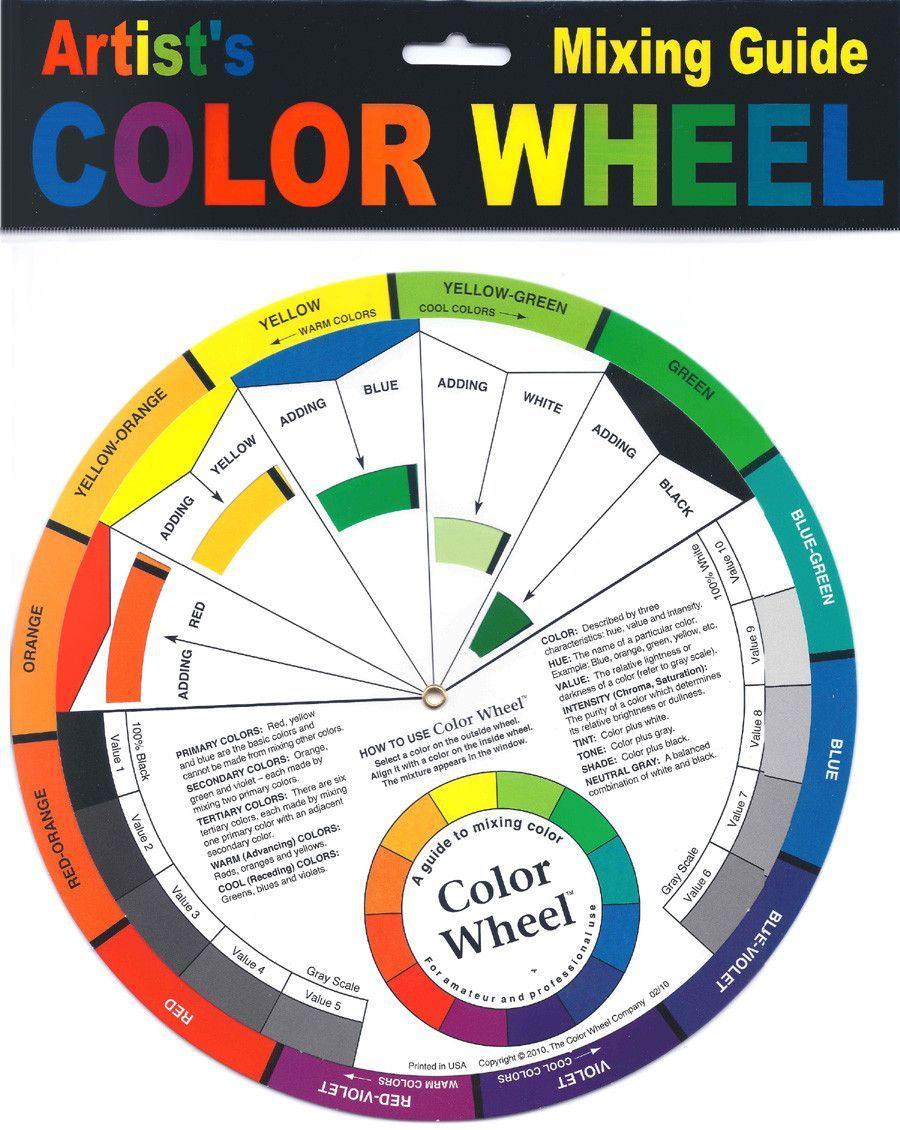 "The Color Wheel 5-1/8"" The Pocket Color Wheel"
