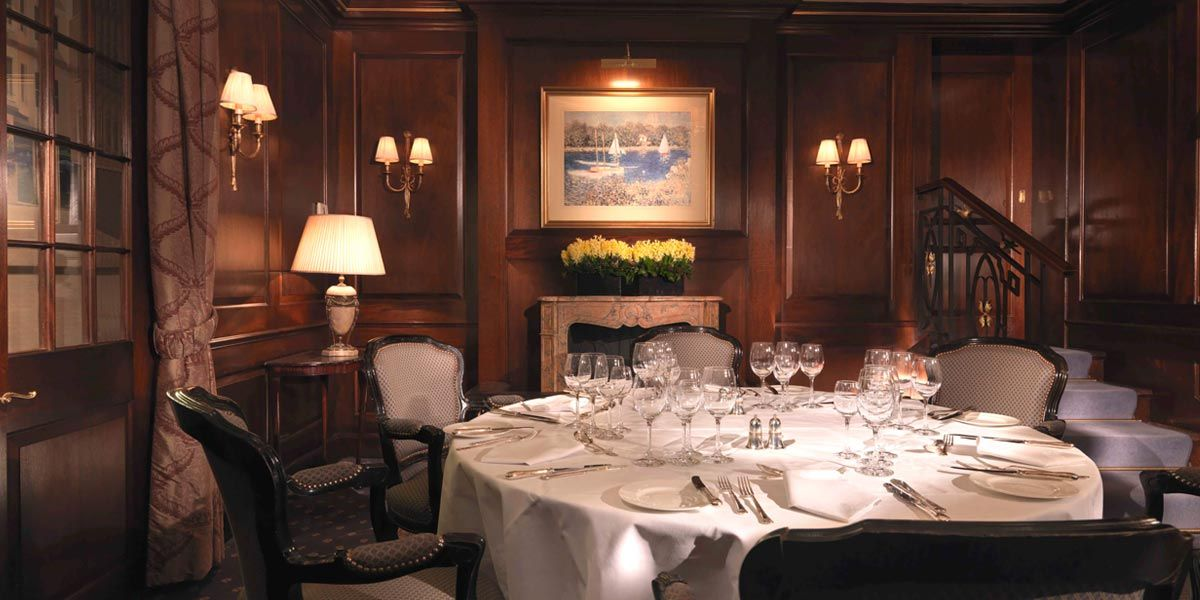 Perfect every time; private dining at The Stafford London by ...
