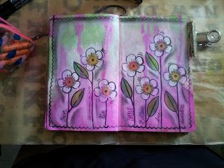 Art Journal: flores