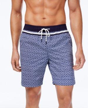 04cbe546cba1c Tommy Hilfiger Men's Milos Swim Trunks - Blue XXL | Products in 2019 ...