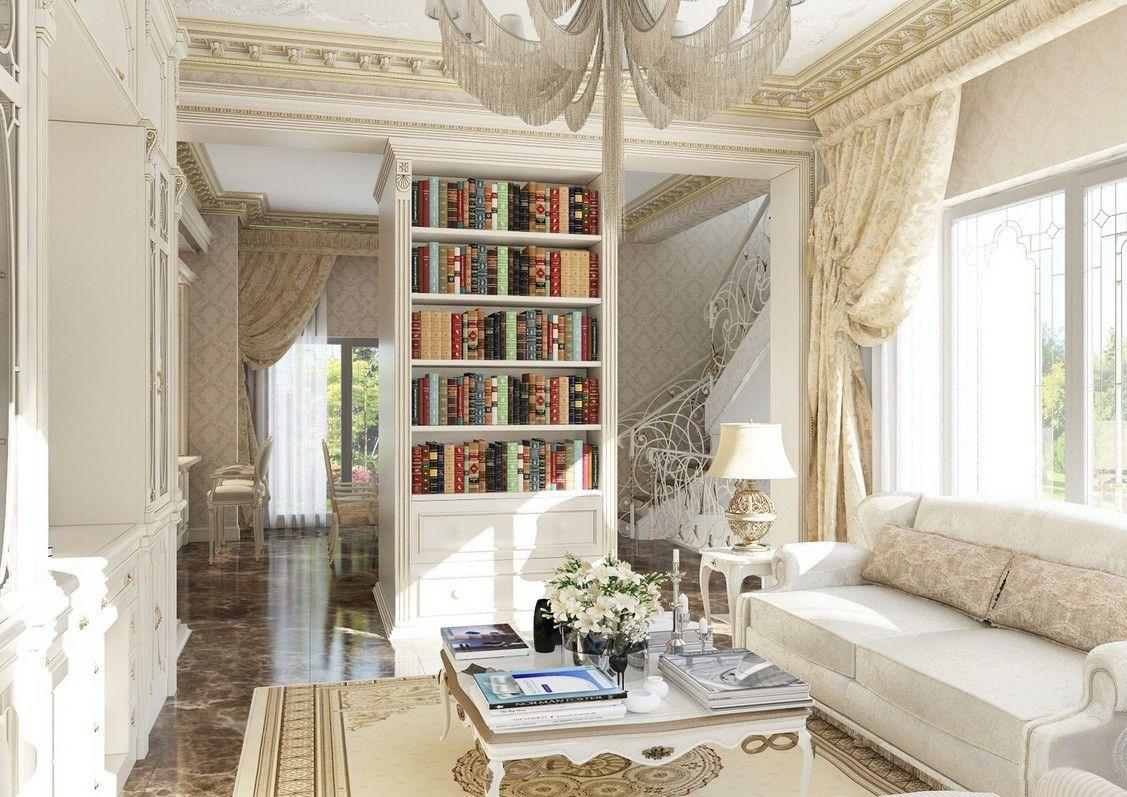 Дизайн первого этажа в стиле прованс   Для дома ...