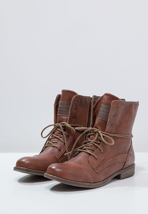 59196afab0e Chaussures Mustang Bottines à lacets - kastanie marron  74