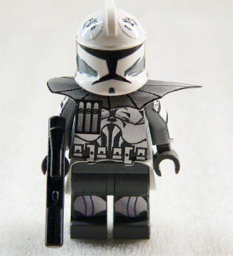 LEGO Star Wars Custom clone trooper (gray/white) 2 Minifig   Lego ...