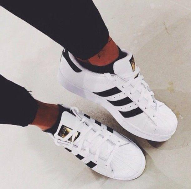 adidas superstar Chaussures pinterest