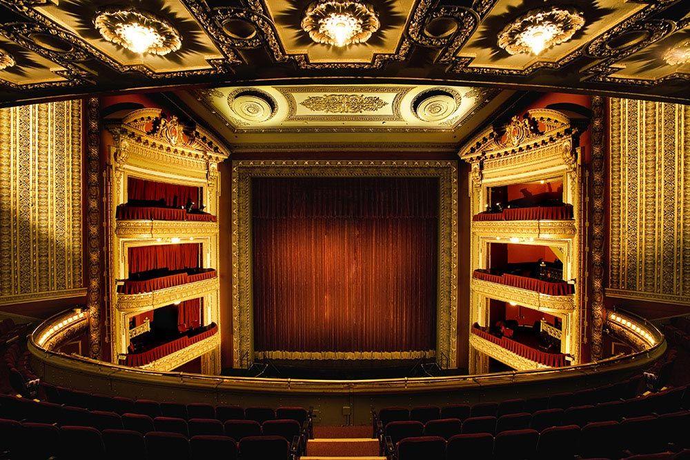 Cibc Theatre Theater Architecture Bank Of America Majestic Theatre