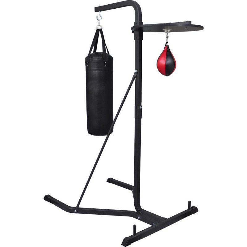 vidaXL Box Stand 2 Way Standing Boxing Punching Kick Bag