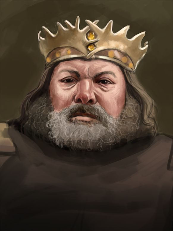 King Robert by Francis Dollez