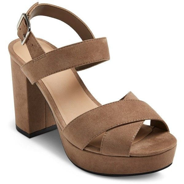 5354f157794e Women s Harlee Platform Heeled Sandals - Mossimo Supply Co ...