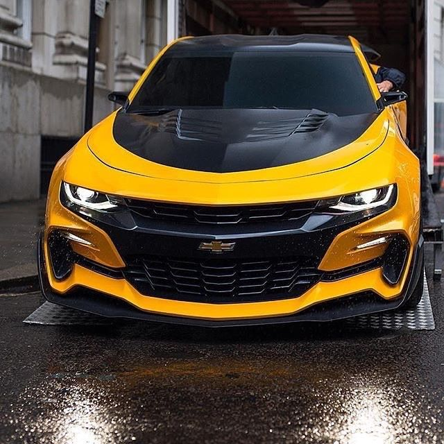 2016 Chevrolet Camaro Bumblebee Transformers The Last Knight