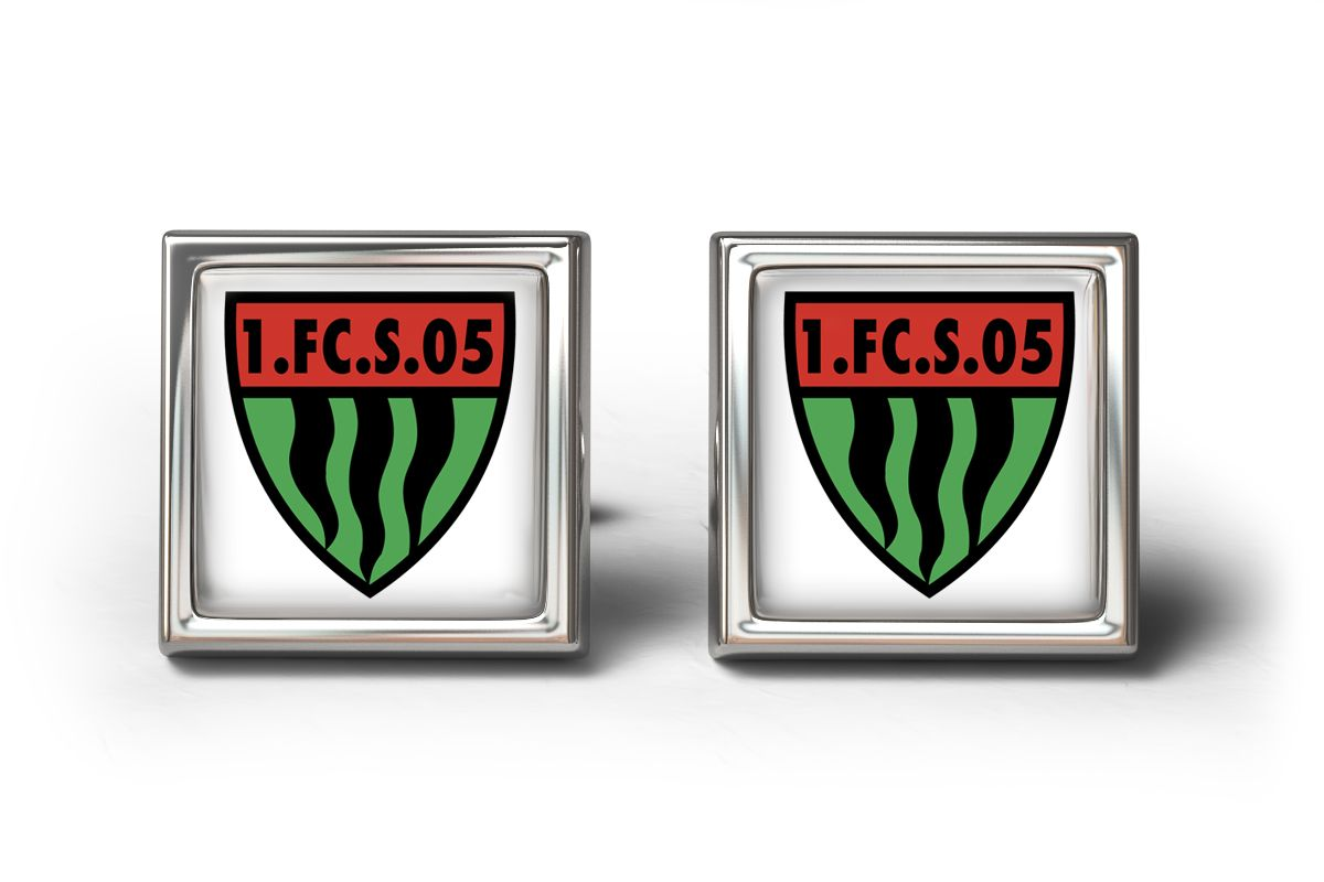 FC SCHWEINFURT 05 CUFFLINKS MANSCHETTENKNÖPFE #Cufflinks #DesignerCufflinks #gifts