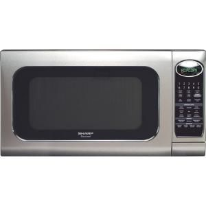 Sharp Carousel 2 0 Cu Ft Countertop Microwave In Stainless Steel