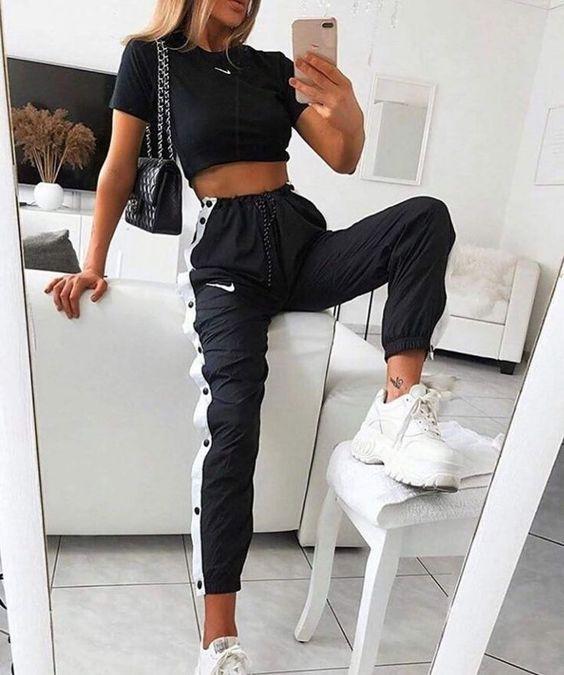 Os melhores looks com calça jogger | Looks, Roupas nike e