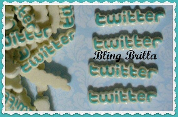 TWITTER   new    Flatback Cabochon for Decoden by BlingBrilla, $3.30-->phone decoration, scrapbooking, crafts, make into magnet, etc.