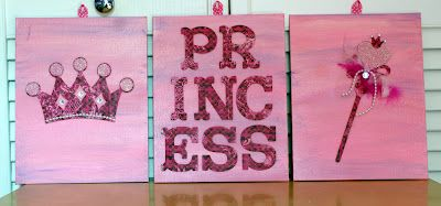 KarenScraps; princess room decor