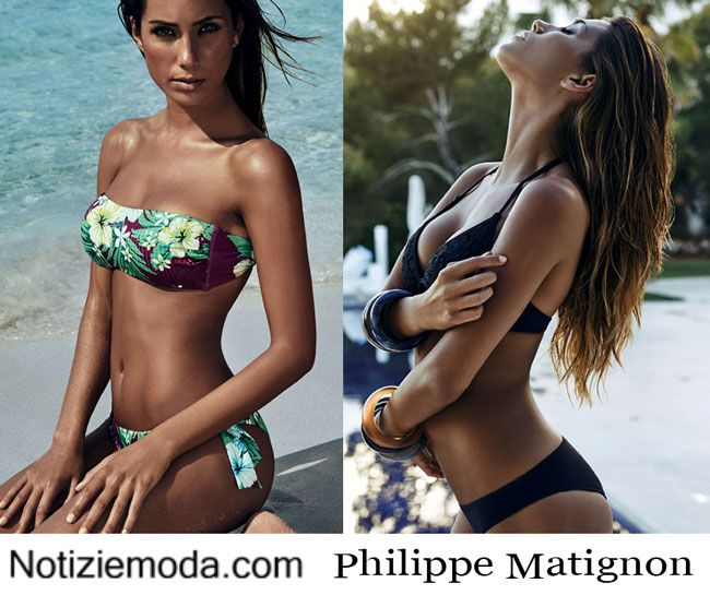costumi da bagno philippe matignon estate 2015 donna