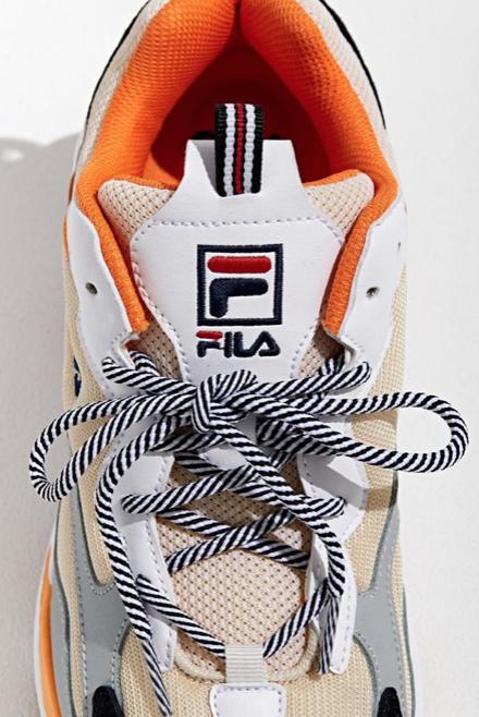 FILA Ray Tracer Orange Sneaker   Orange