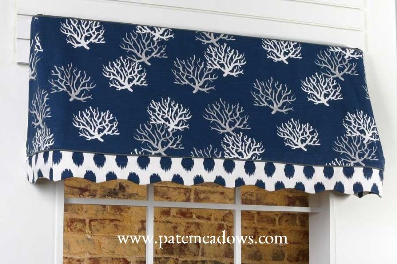 Sadie Curtain Valance Sewing Pattern By Pate Meadows