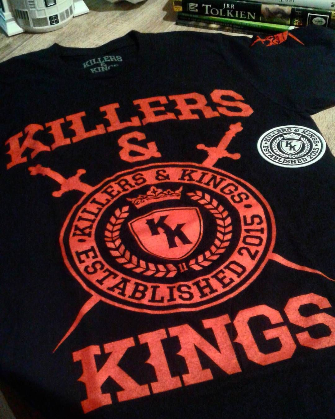 Got my Killers & Kings t-shirt and patch \\m/\\m/ They\'ve got some ...
