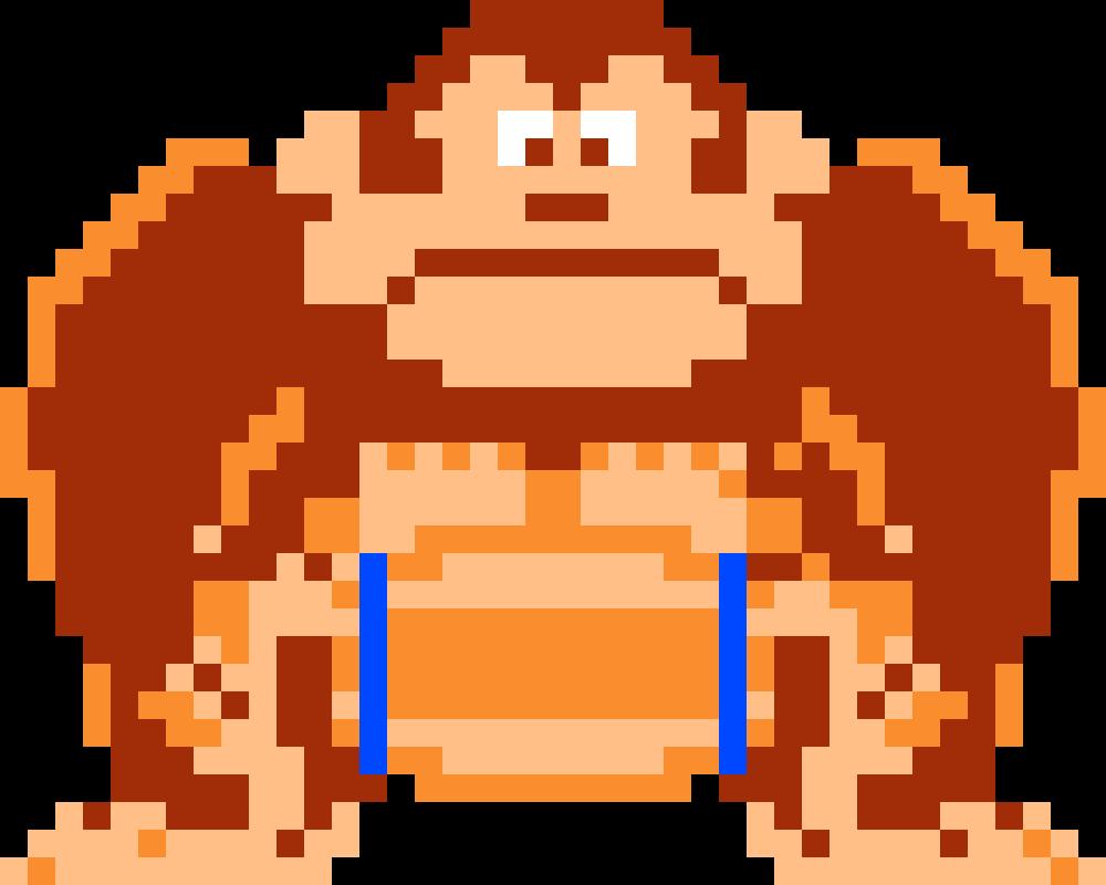 Pixilart Donkey Kong Barrel Hold By Nate214 Donkey Kong Donkey Kong Country Classic Video Games