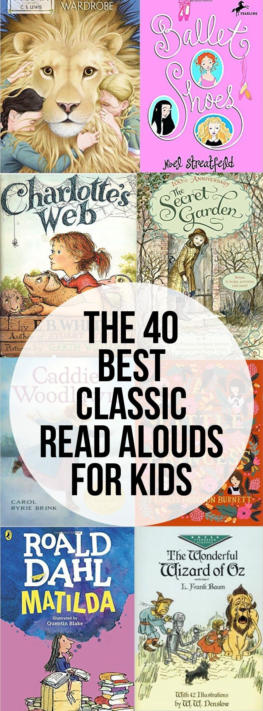 The 40 Best Classic Read Alouds For Kids Intentional Homeschooling Kids Reading Books Homeschool Reading